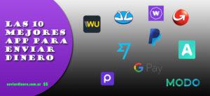 La 10 mejores app para enviar dinero
