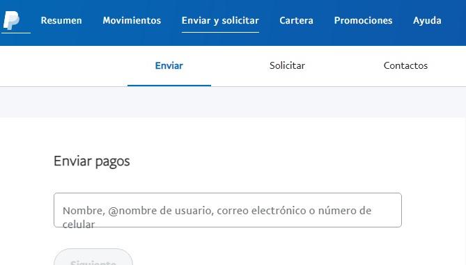 enviar dinero bolivia paypal